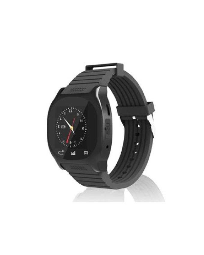 BT 3.0 Original Android Sleep monitor Smart Watch With Bluetooth - Black