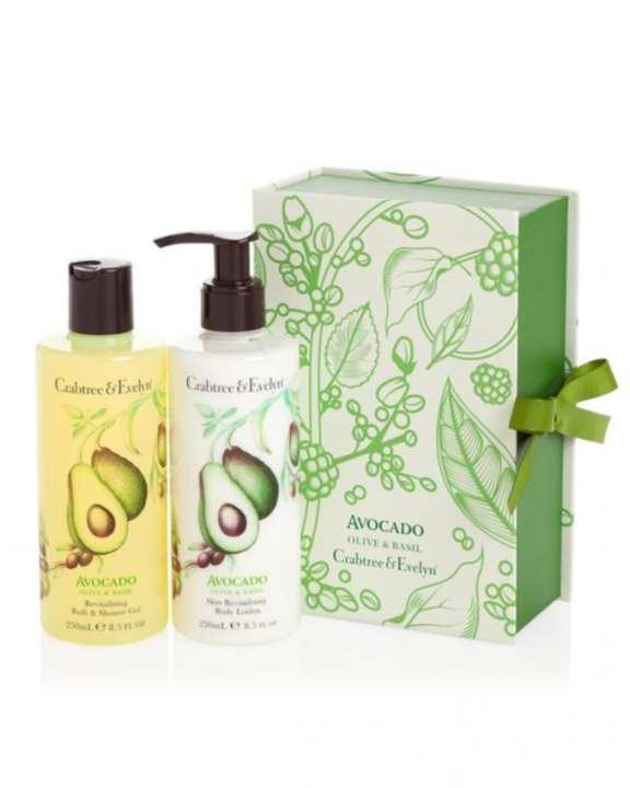 Pack of 2 - Avocado Shower Gel & Body Lotion - 250ml