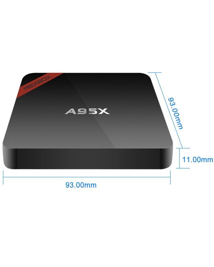 A95X - Nexbox Android TV Box - Black