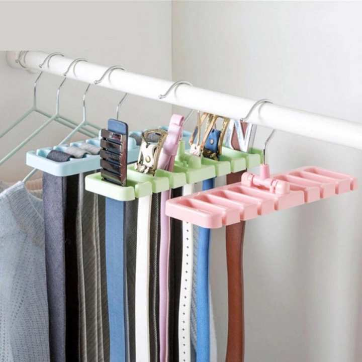 Wardrobe Belt tie hanger Holder