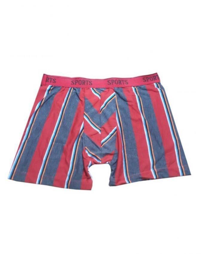 Pack of 3 - Multicolor Sports Cotton Boxer Underwear for Men