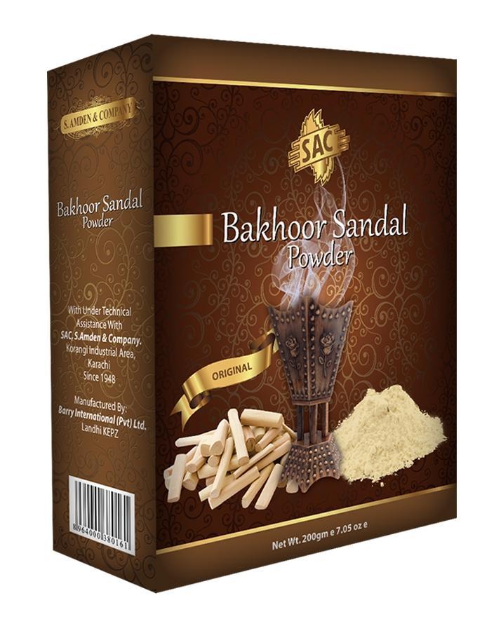 Sandal Bakhoor Powder - 200Gm - Powder Pack For Multiple Use - Incense