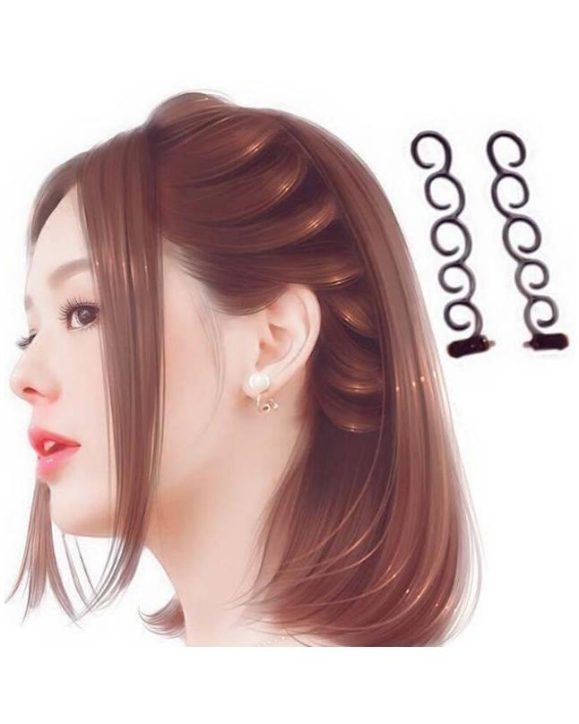 Hair Styling Tool Twist Magic Hair Braid Tools - 2 Pcs Twist Magic 2 Pcs DIY Hair Braid Tools Random Color Accessories Roller Fashion Styling Hot Weave Hair braider is perfect for when you want your hair to end up into something exciting!