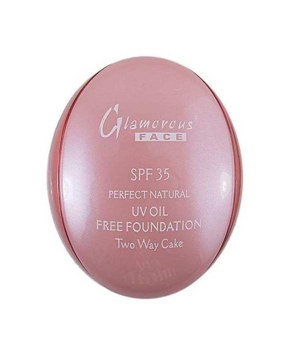 Glamorous Face 2 in 1 Foundation & Face Powder two way cake