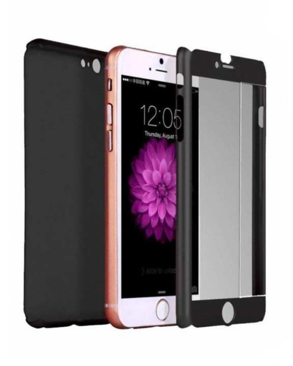 360 Degree Case For iPhone 6 & 6S - Black