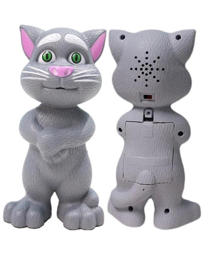 cy-6079b - Intelligent Talking Tom Cat - Grey