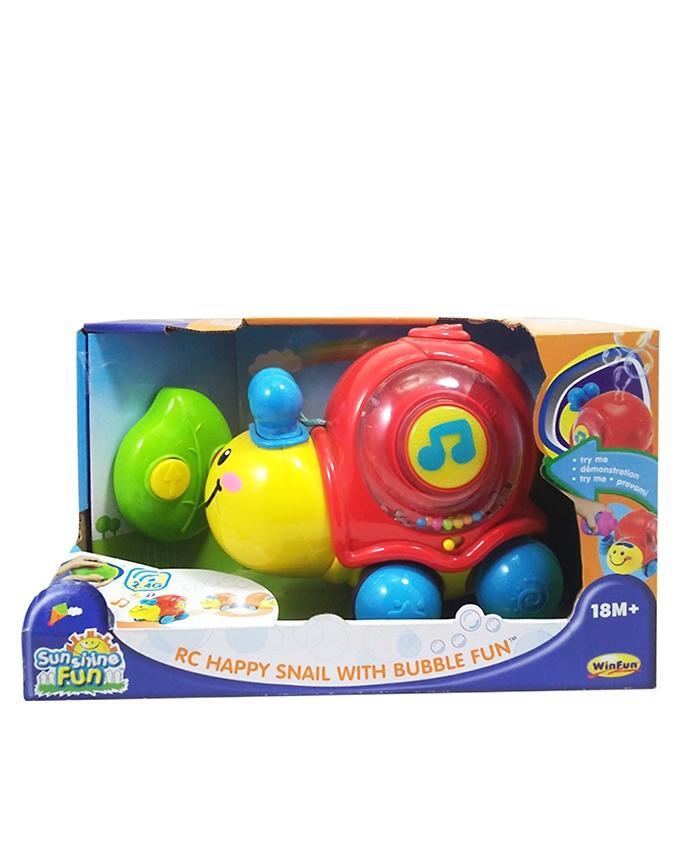 Winfun - RC Happy Snail With Bubble Fun - Multicolor