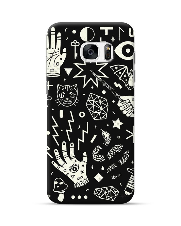 Witchcraft Art Cover For Samsung S7 Edge