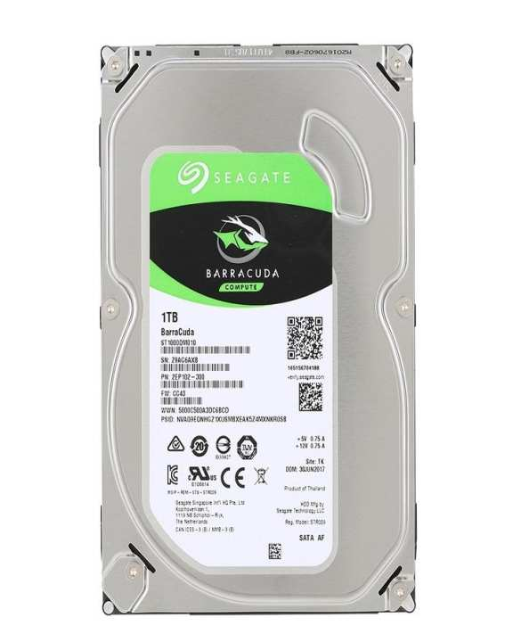 "1Tb Desktop Hdd Internal Hard Disk Drive 7200 Rpm Sata 6Gb/S 64Mb Cache 3.5""Inch"