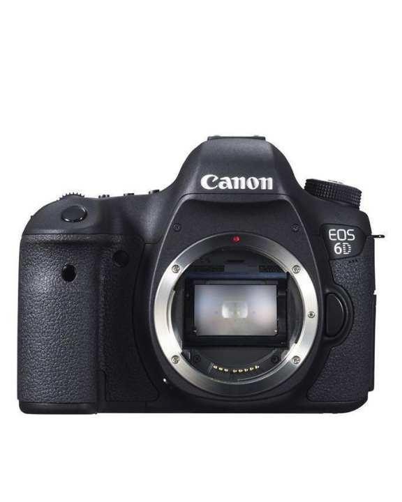 EOS 6D - 20.2MP - 4.3x - DSLR Camera - Body - Black
