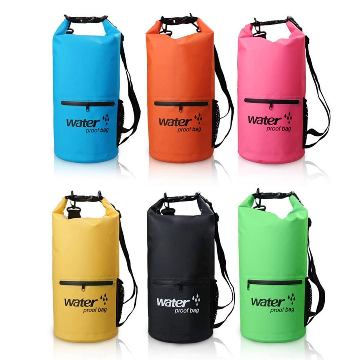 ba9bea16cbda 20L Sport Waterproof Dry Bag Backpack Pouch Floating Boating Kayaking  Camping  Buy Online at Best Prices in Pakistan