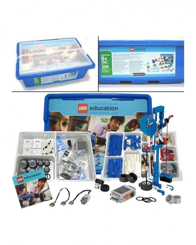 9686 - Simple And Powered Machines Set For Kids (with Free Digital pack) - Multicolor