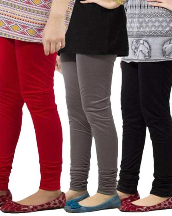 A&G-PACK OF 3 JERSEY CHURIDAAR TIGHTS