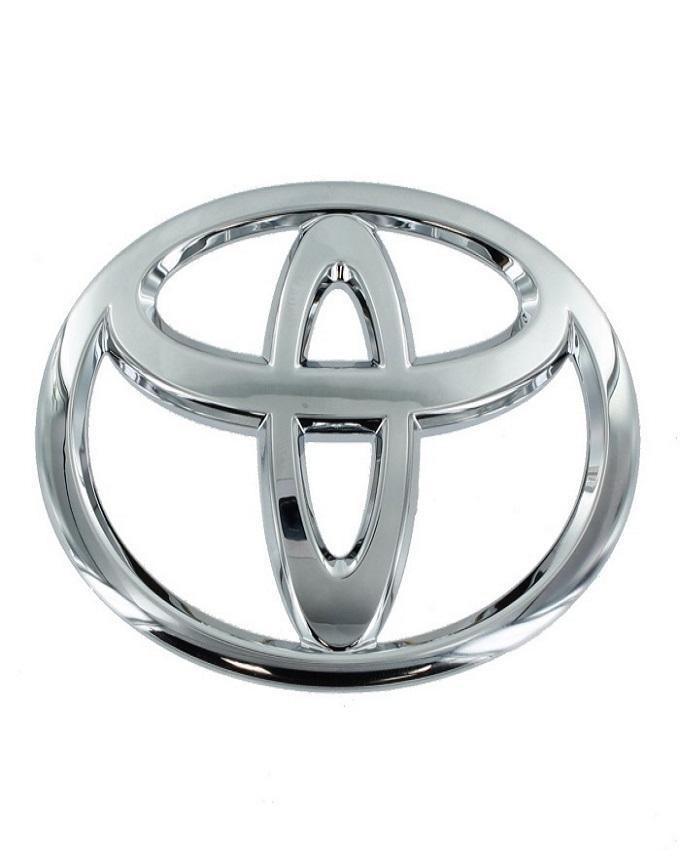 Toyota Car Monogram - Silver