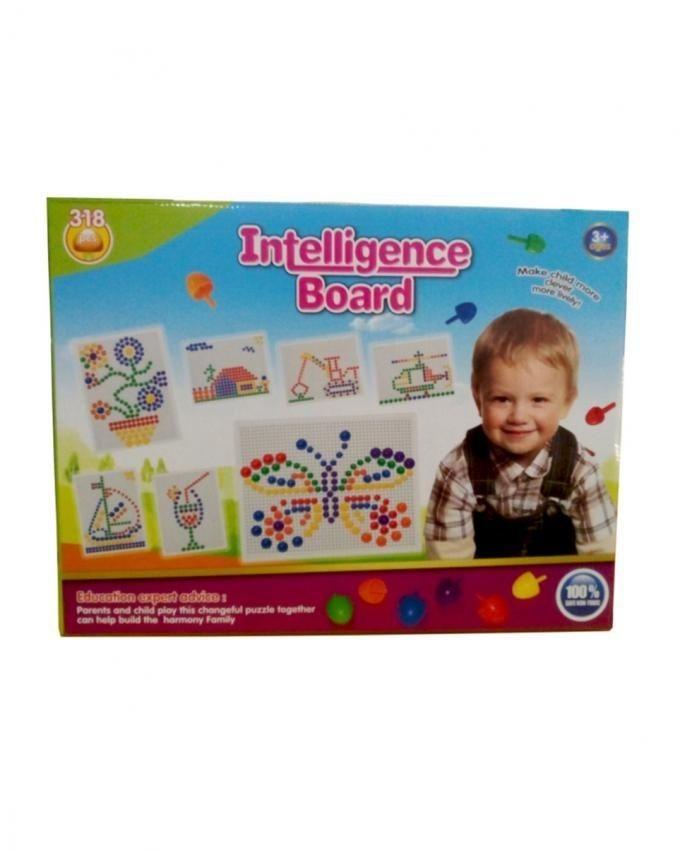 Intelligence Pin Board - Multicolor