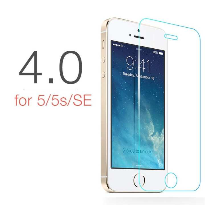 Ultra-thin Tempered Glass Screen Protector for iPhone 5