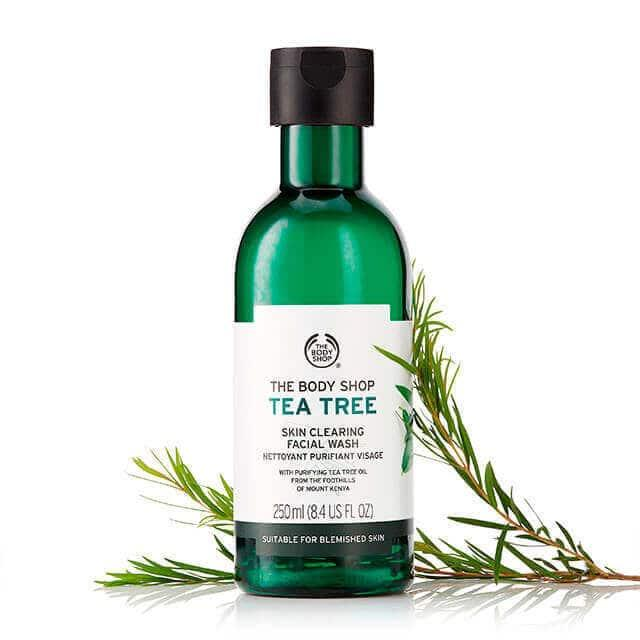 The Body Shop tea tree skin clearing facial wash 250 ml