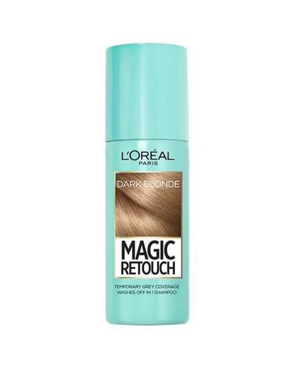 Magic Retouch Root Touch Up Hair Color Spray - Dark Blonde 75ml