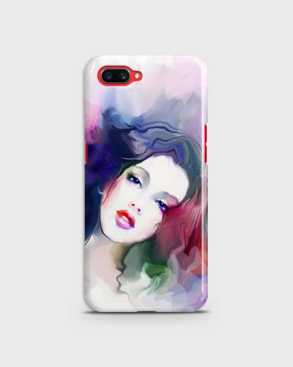 Cover For Oppo A5 Hard Girl Face Print -1cover2817