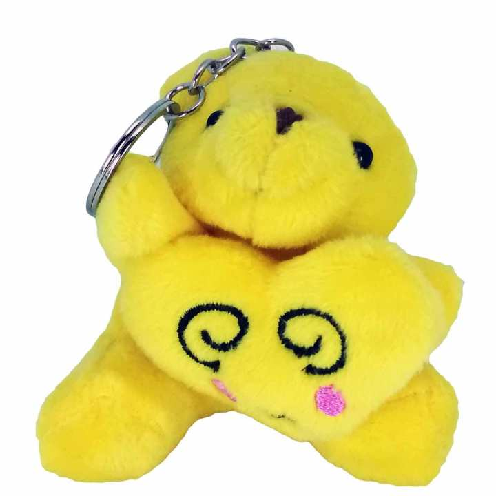 Cute Emoji Soft For Phone Pendant Handbag Key Chain Ring Car Key Chains