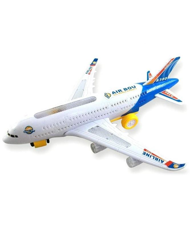 Battery Operated Air Bus A380 - White