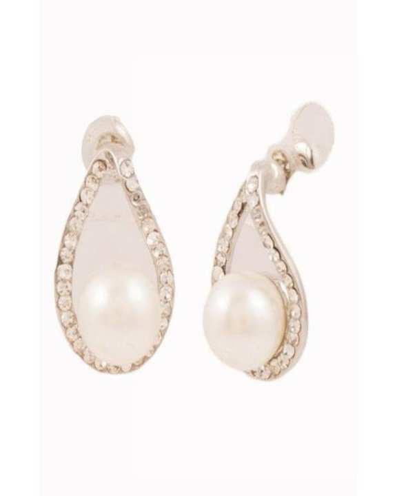 Golden Alloy Earrings for Women