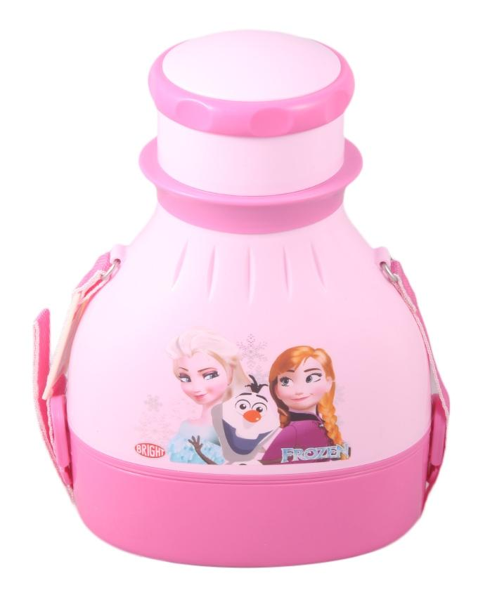 2 in 1 Powerplus School Bottle With Lunch Box - Pink
