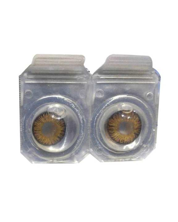 Pair Of Soft Contact Lens - Brown