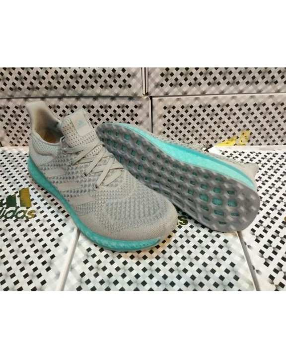 Blue / Grey Stylish Canvas Sports Sneakers - For Men