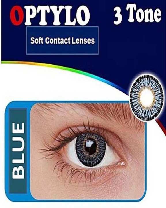 OPTYLO - Soft Contact Lenses - BLUE