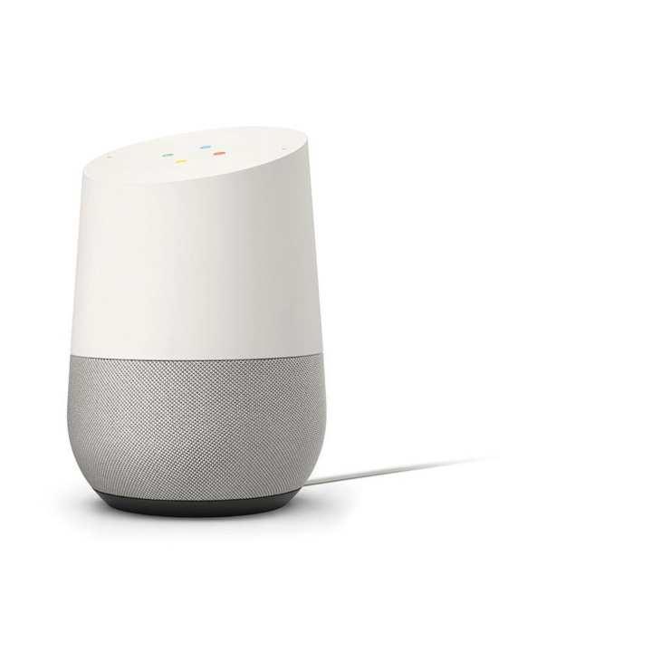 Google Home Voice-Activated Speaker Google - White