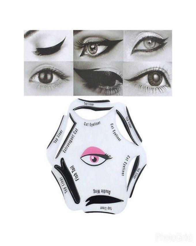 Eyeliner Stencils - White