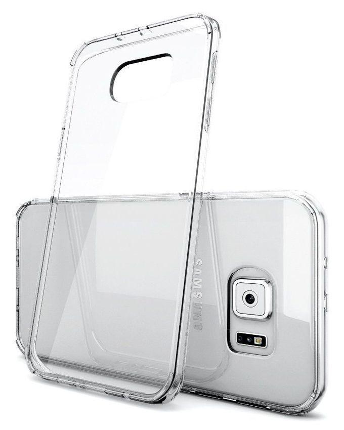 Jelly Cover For Samsung Galaxy S6 Edge - Transparent