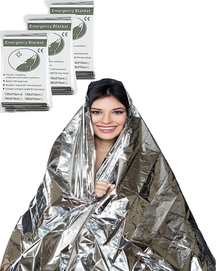 Emergency Survival Blanket for Outdoor Camping and Hiking