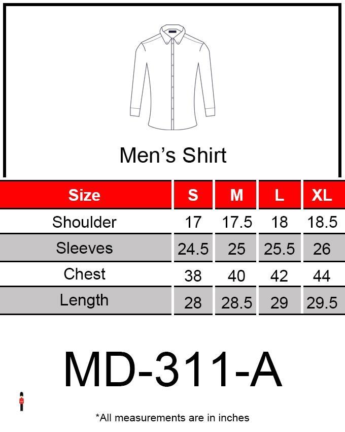 Light Blue Denim Shirt for Men
