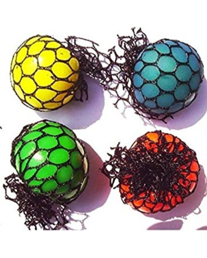 Anti Stress Ball Toy Stress Reliever Pack Of 4