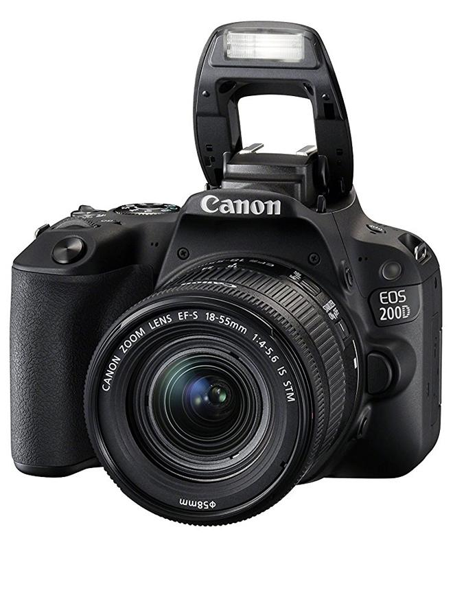 Eos 200D/ Sl2 Dslr Camera With 18-55Mm Lens (Black)