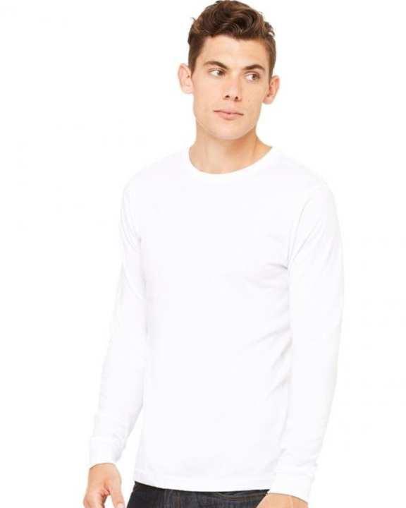 White Cotton T-Shirt for Men
