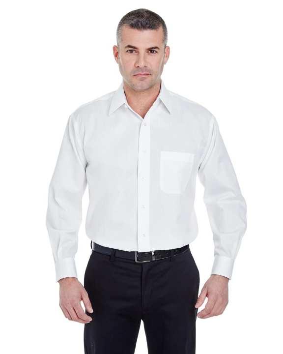 White Cotton Men's Shirt