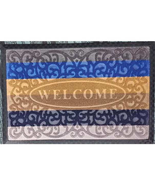 Pvc Edged Heavy Duty Door Mat Rug Available In 40X60 Sizes