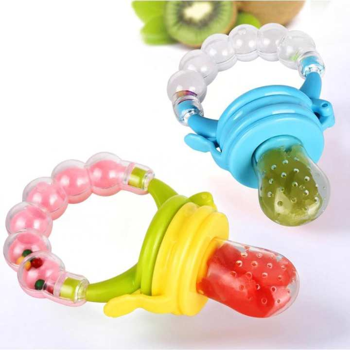 Safety Nipple Nibbler Fruit Vegetable Feeder Feeding Non-Toxic Tool Safe Baby Supplies Pacifier Nipple - TA Deals