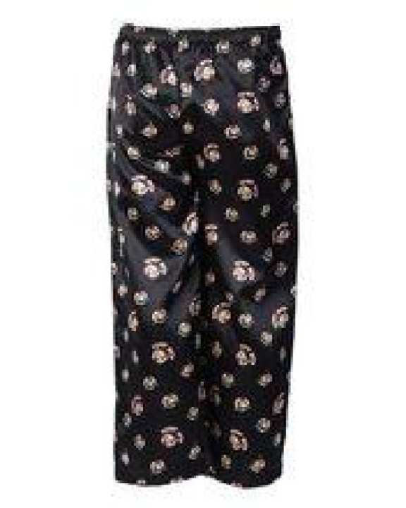 Black Polyester Betty Boop Printed Pajamas For Girls - GP 04