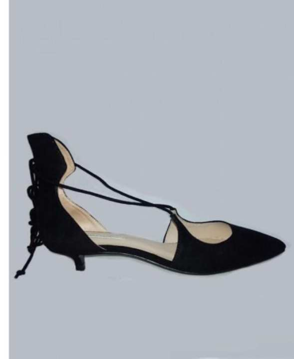 Black Strappy Sandals for Women