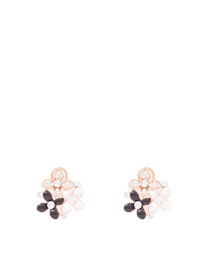 Three Flower Earring