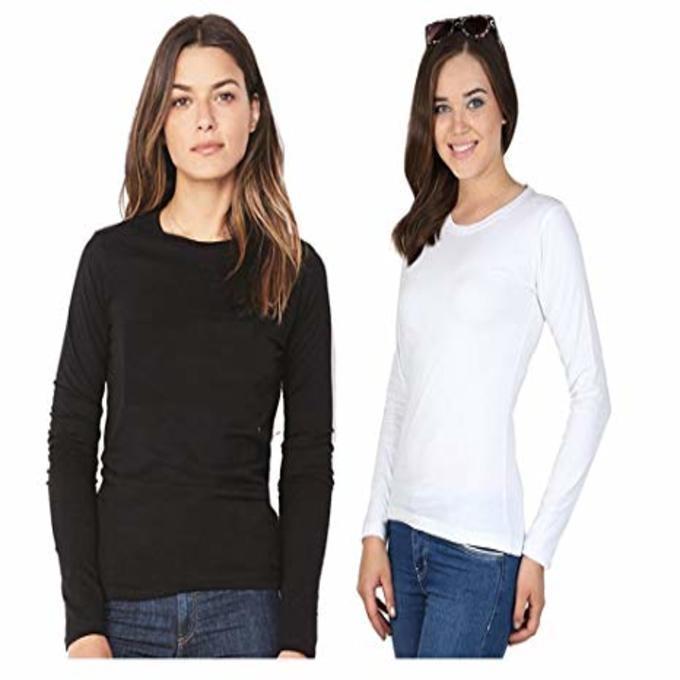 Buy Women T-Shirts Online   Best Price in Pakistan - Daraz.pk 45d17b6f4d