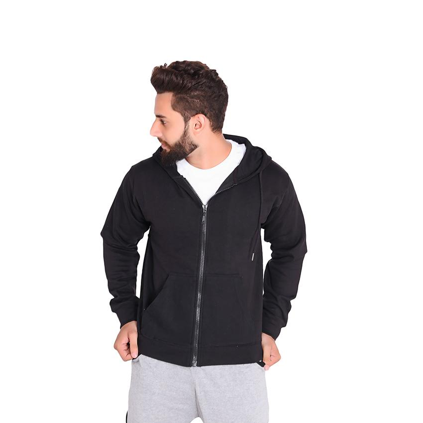 f7e2477fec4d Winter thicken warm black hoodie sweatshirt zipper street wear hoodies  sweatshirts fleece Jacket coat fashion oversize