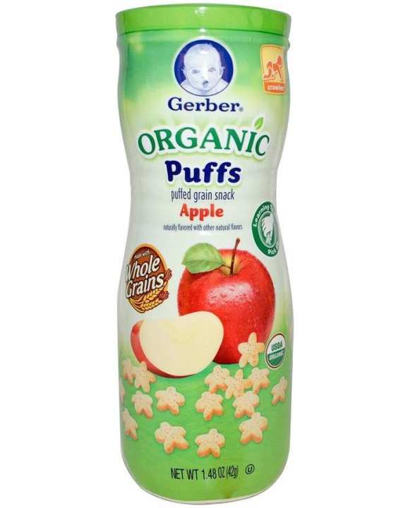 Organic Apple Puffs Cereal Snack