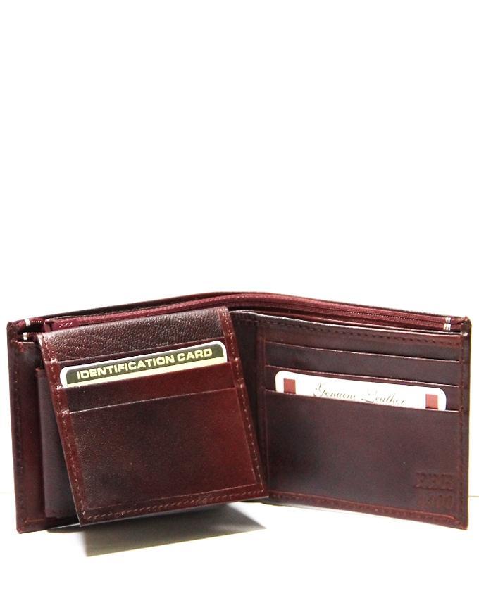 Antique Leather Wallet for Men - 4400  W34K