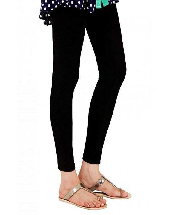 Black Tights Lycra Fabric Inner Wear By Xero9