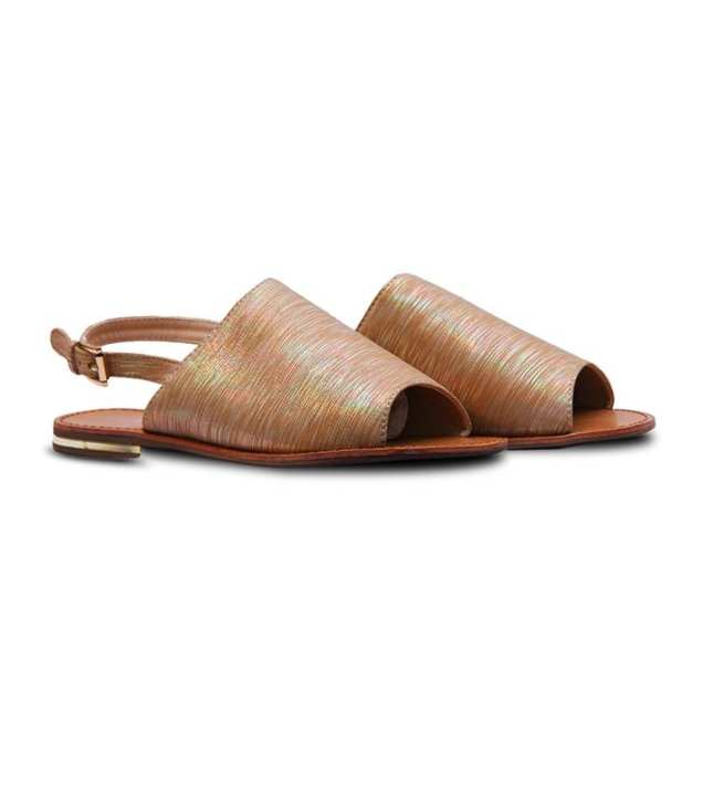 Brown Flat Sandals for Women